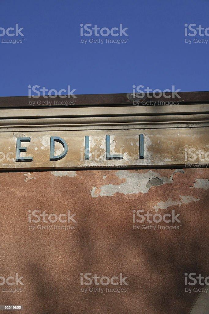 EDILI royalty-free stock photo