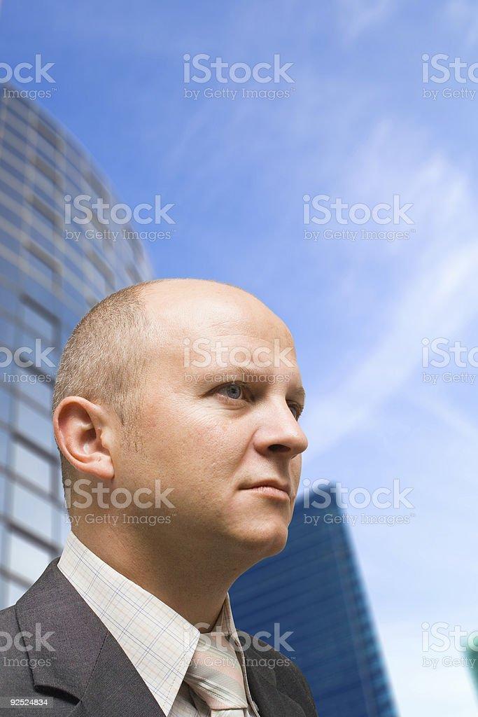 CEO royalty-free stock photo
