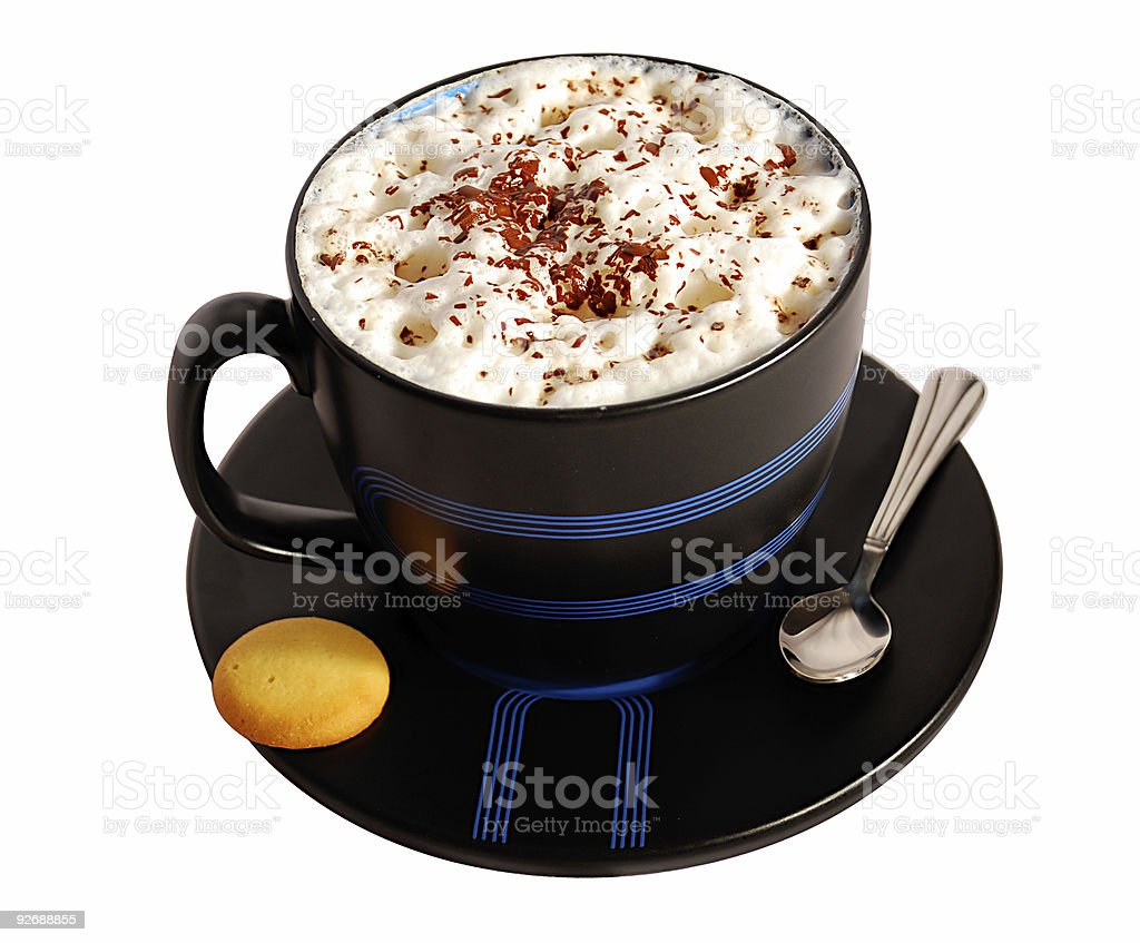 COFFEE ISOLATED royalty-free stock photo