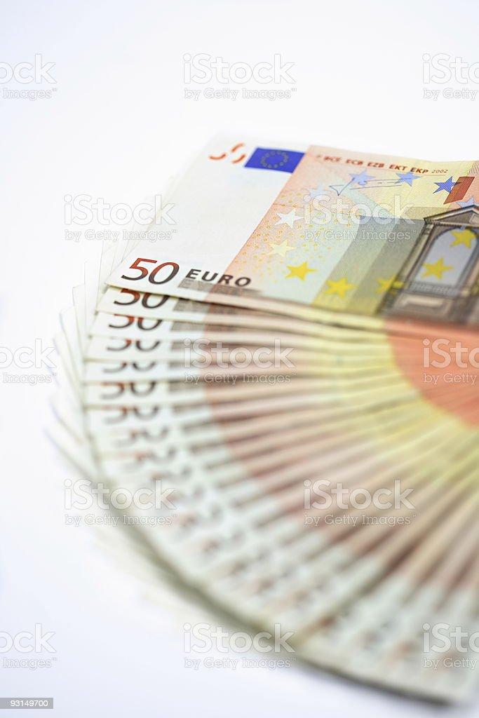 THOUSAND EURO stock photo