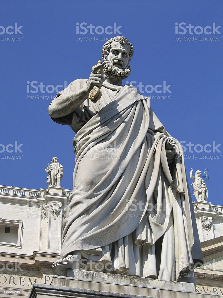 ST PETER royalty-free stock photo