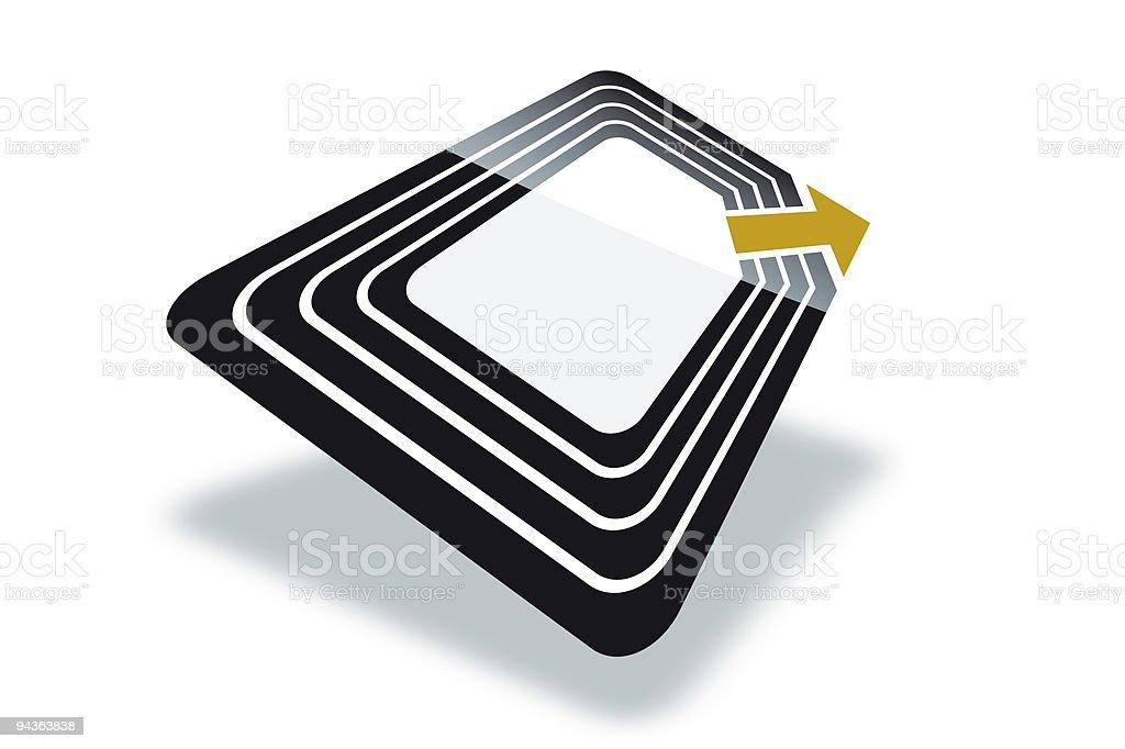 RFID royalty-free stock photo