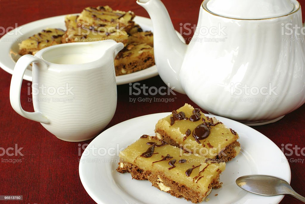 BUTTER FUDGE FINGERS royalty-free stock photo