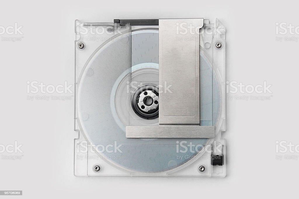 MO(Magneto Optical Disc) stock photo