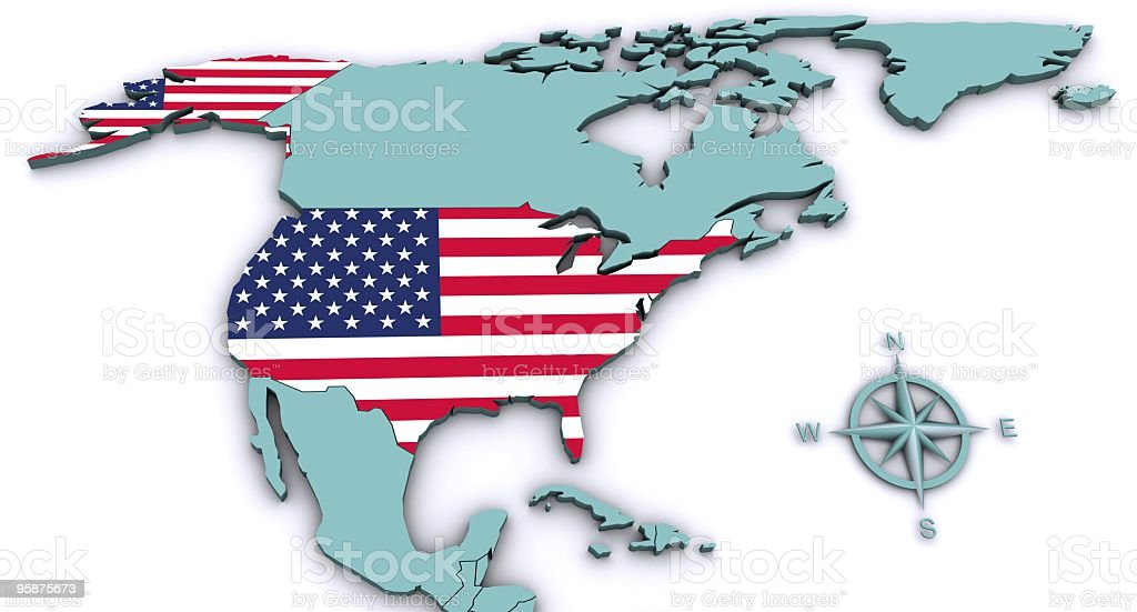USA royalty-free stock photo