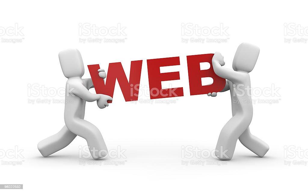 WEB royalty-free stock photo