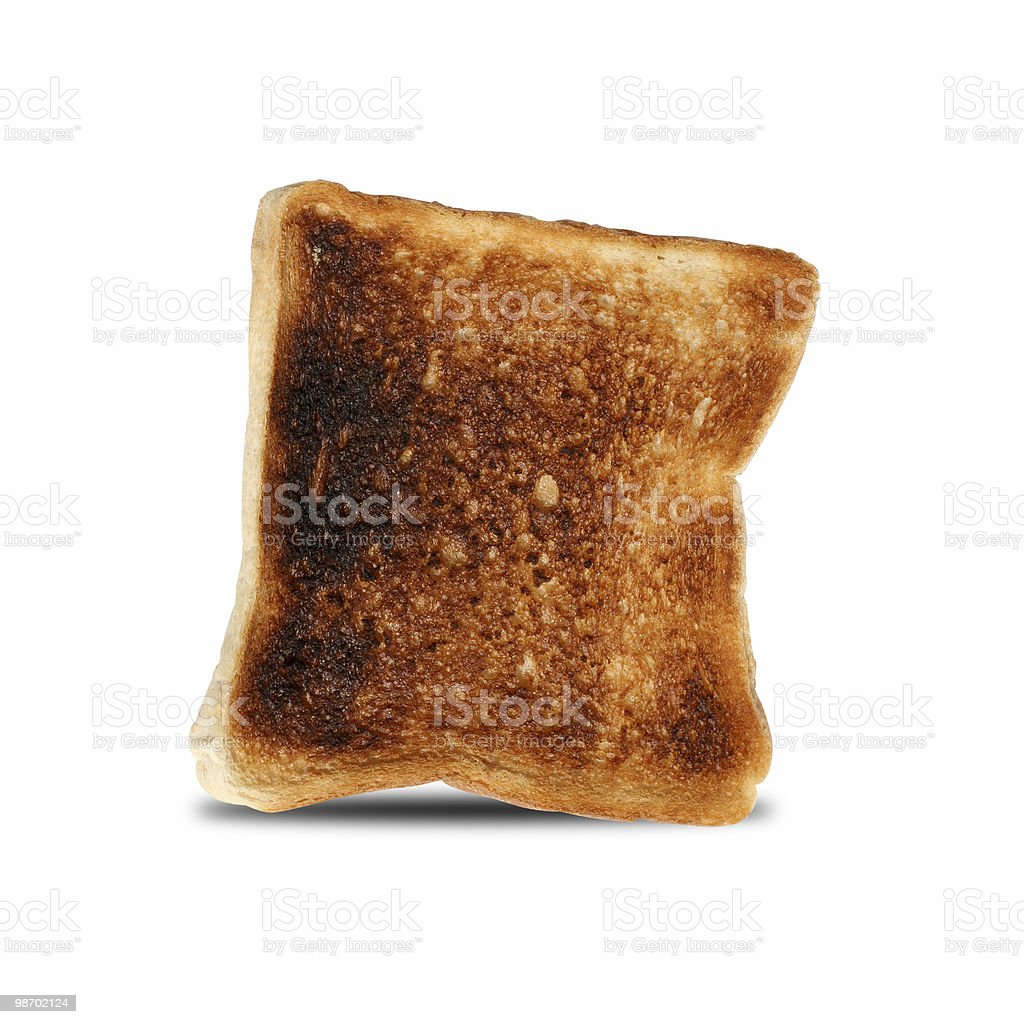 TOAST royalty-free stock photo