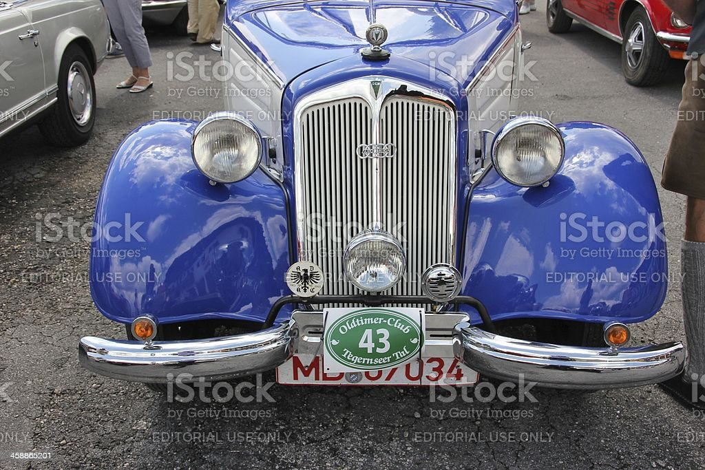 0ldtimer DKW from Auto Union royalty-free stock photo