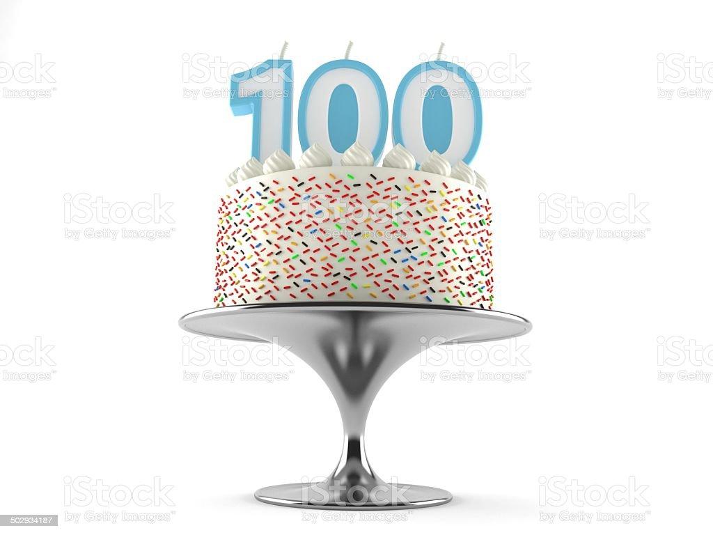 100th birthday stock photo