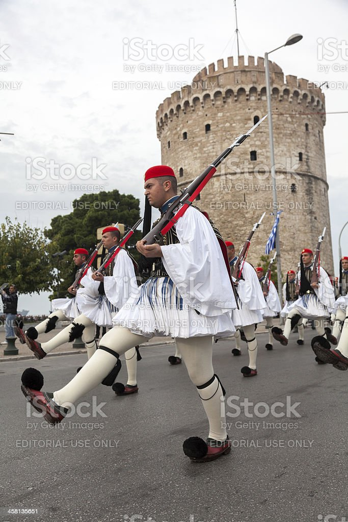 100th liberation anniversary from the City' royalty-free stock photo