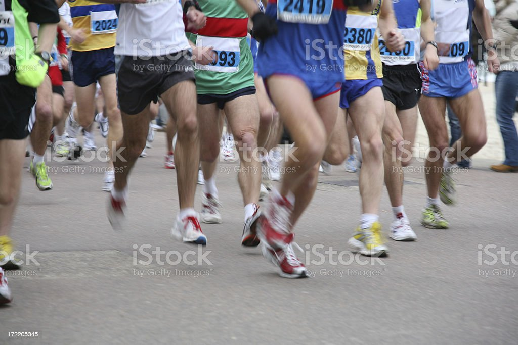 10k Run stock photo