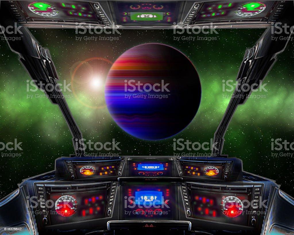 10th planet. stock photo
