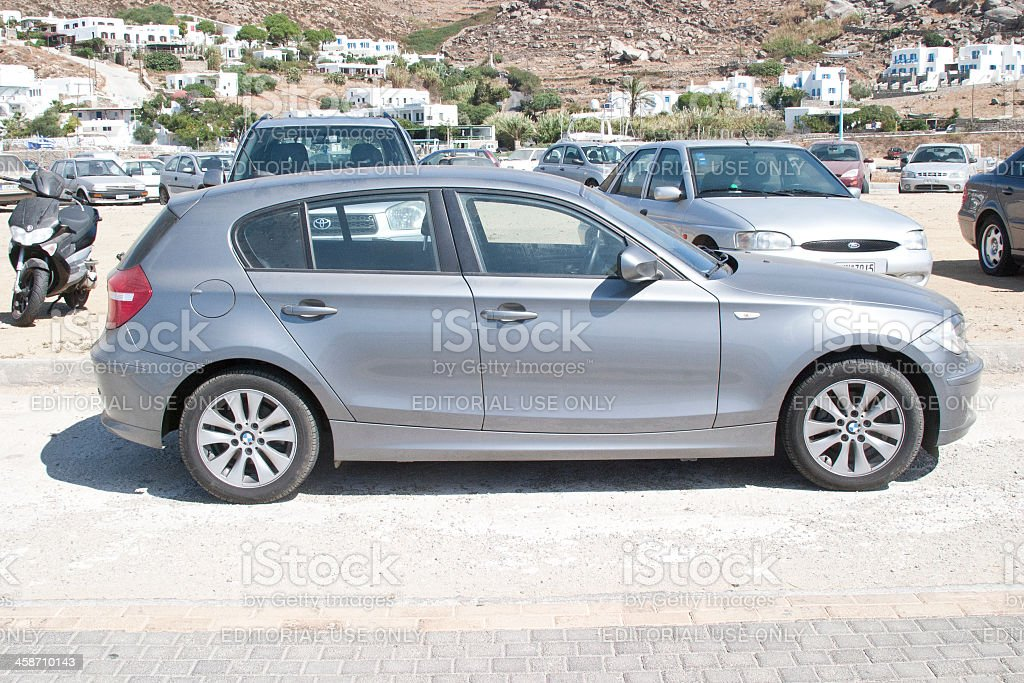 BMW 116i Car royalty-free stock photo