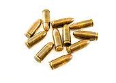 11mm bullets short gun. 45 Automatic Colt Pistol (ACP) bullets