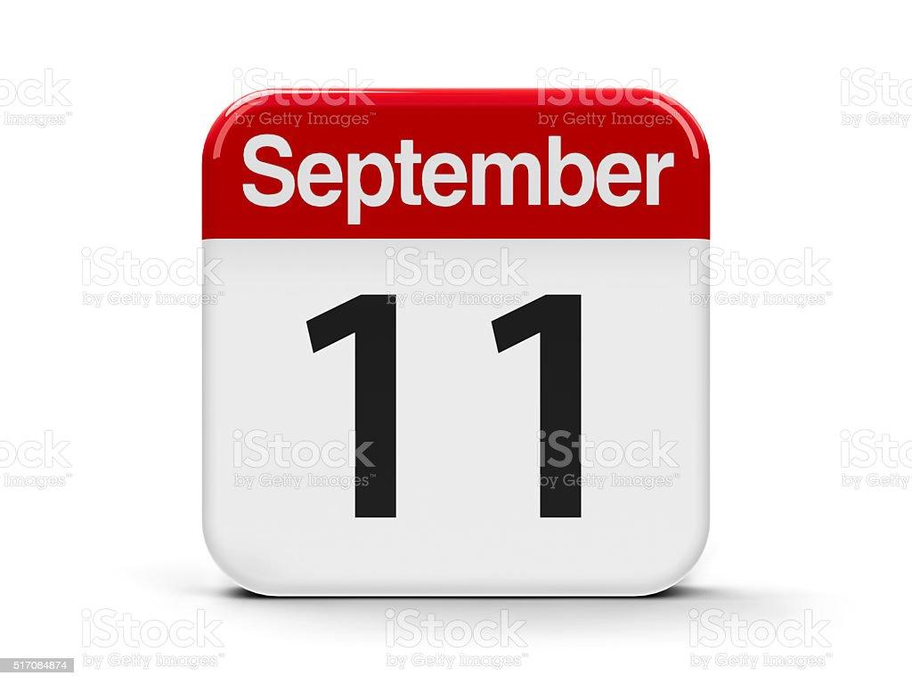 11th September stock photo
