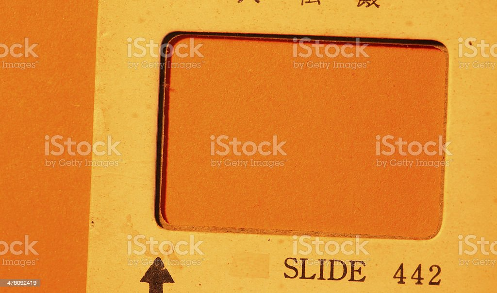 120mm Old Film stock photo