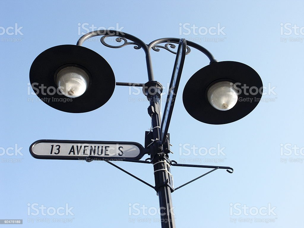 13th Avenue South royalty-free stock photo