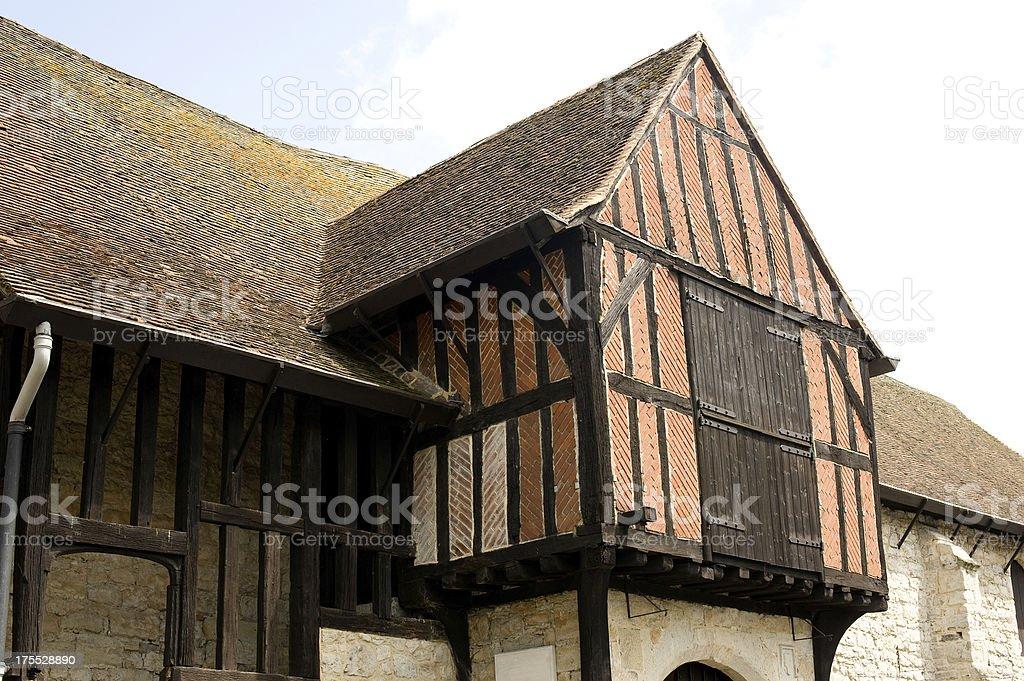14th Century Architecture stock photo