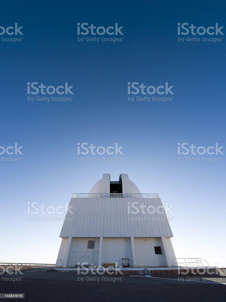 1.-5-m telescope dome at Cerro Tololo Inter-American Observatory stock photo