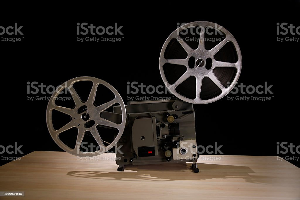 16mm Film Projector stock photo