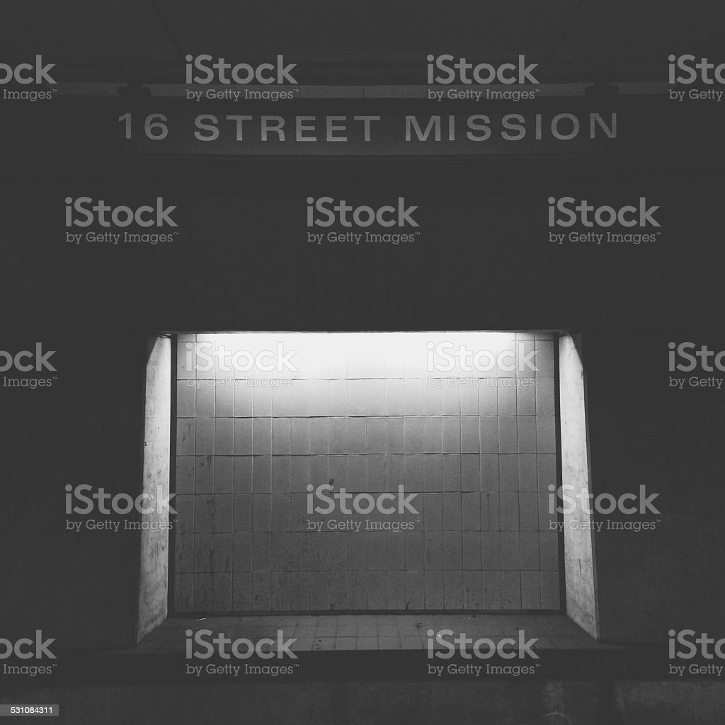 16th and Mission stock photo