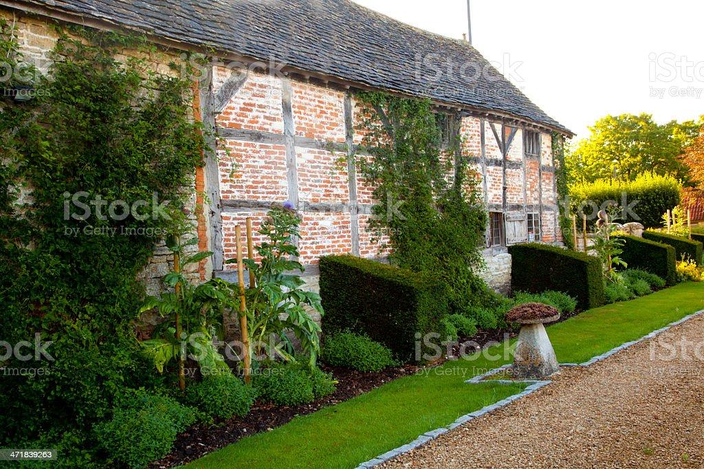 16th century home - England royalty-free stock photo