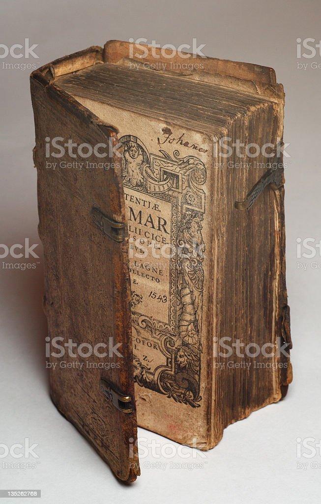 16th century renaissance book stock photo