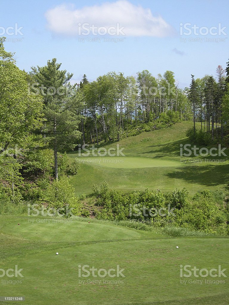 17th Hole Two royalty-free stock photo