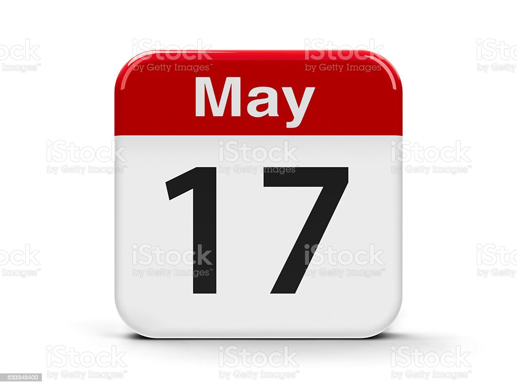 17th May stock photo