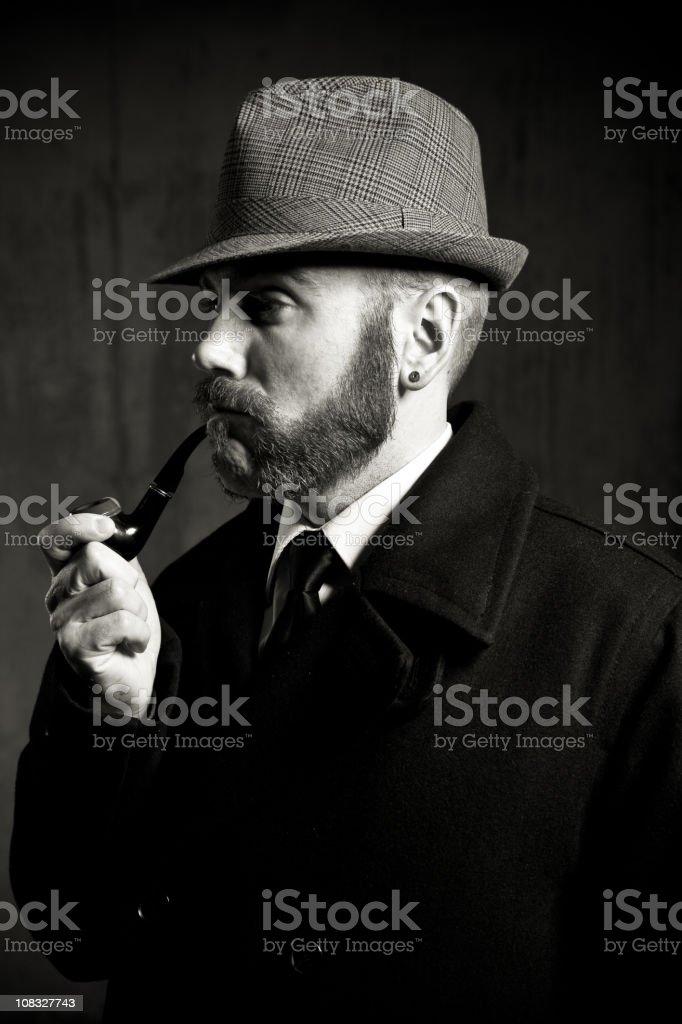 1800s Detective royalty-free stock photo