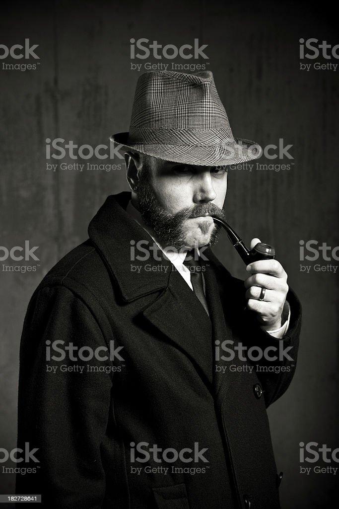 1800s Detective stock photo