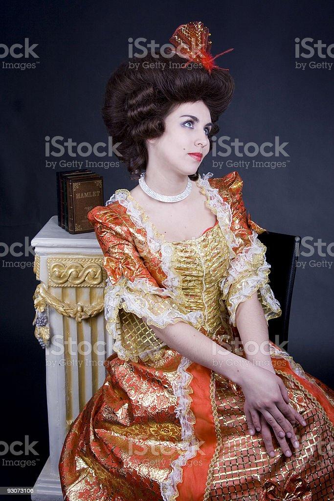 18th century portret royalty-free stock photo
