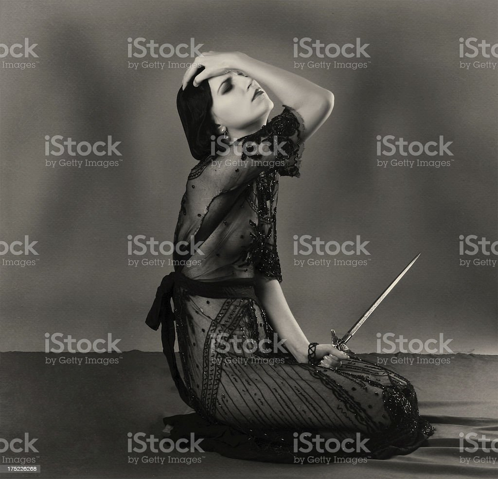 1920s style.Revelation of Medea. stock photo