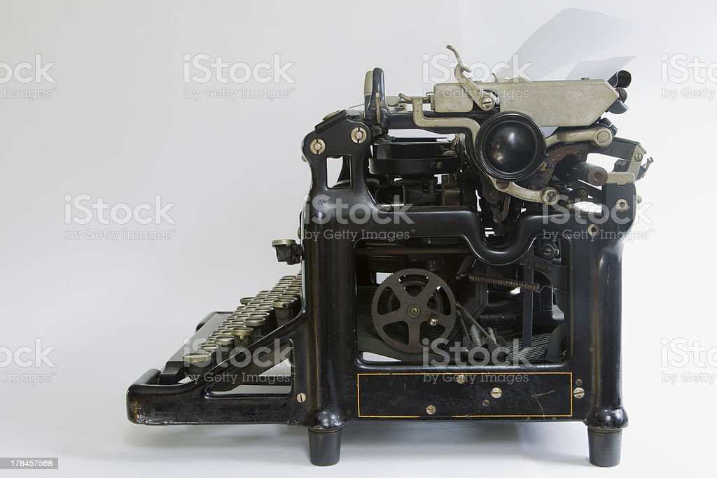 1920s Vintage Typewriter royalty-free stock photo