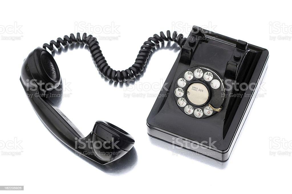 1940s Phone royalty-free stock photo