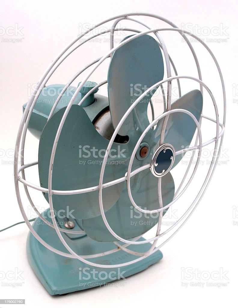 1950s fan 2 stock photo