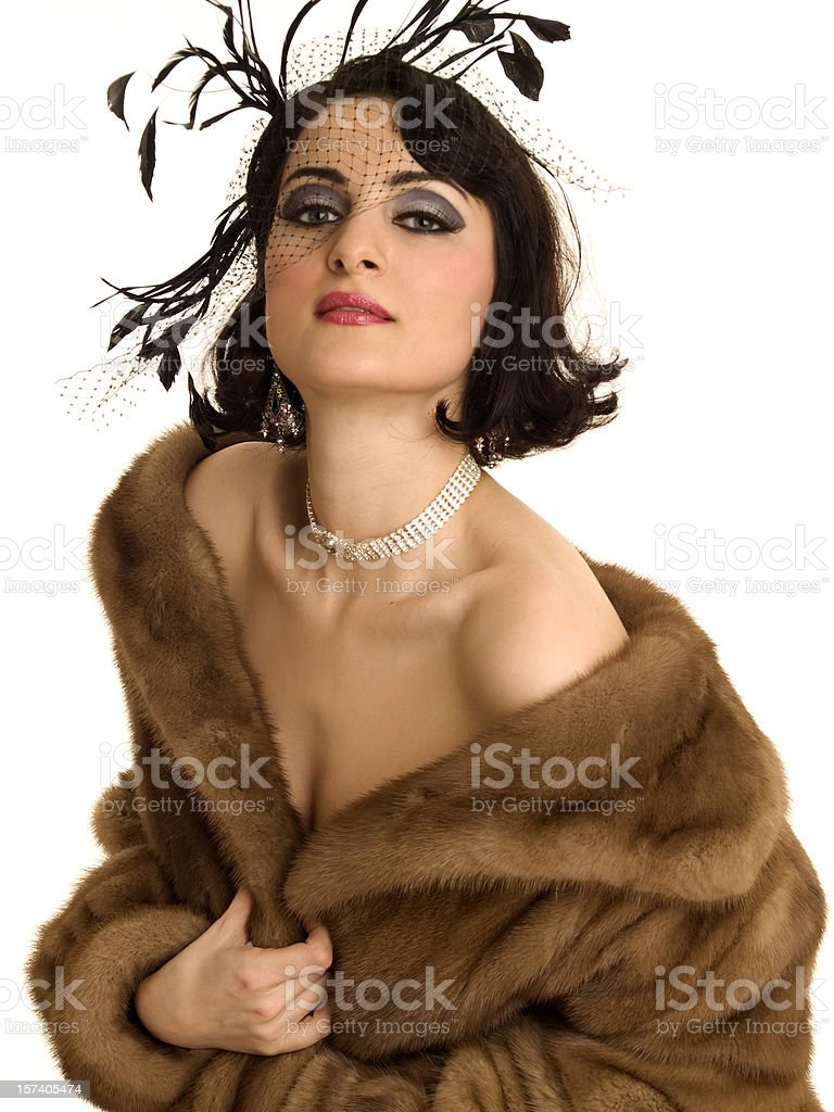1950s Glamour stock photo