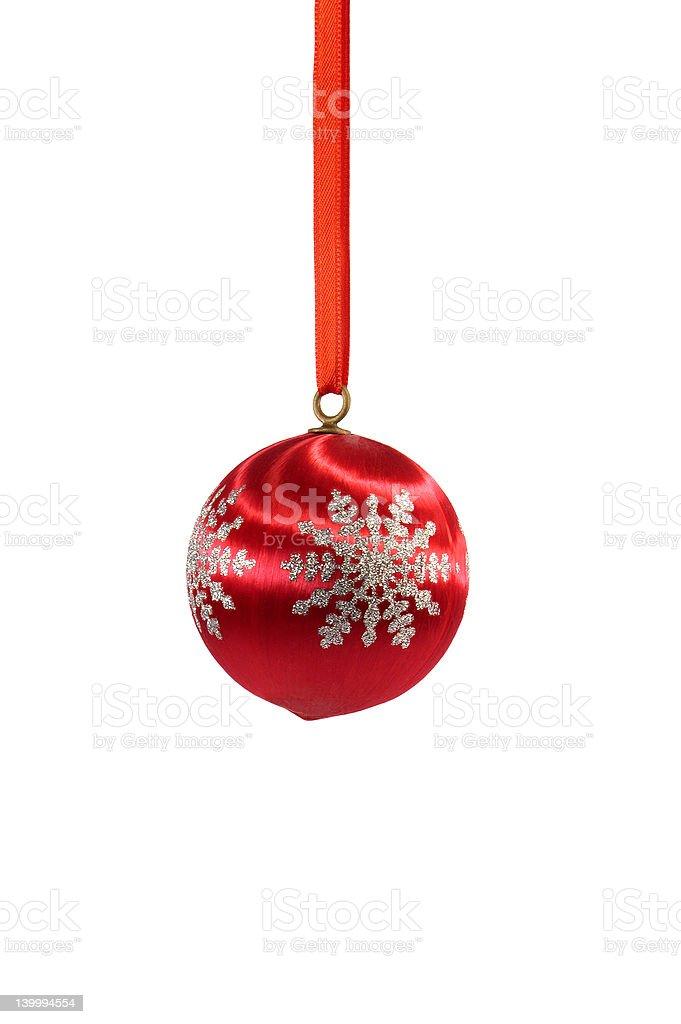 1960s Christmas tree ornament royalty-free stock photo