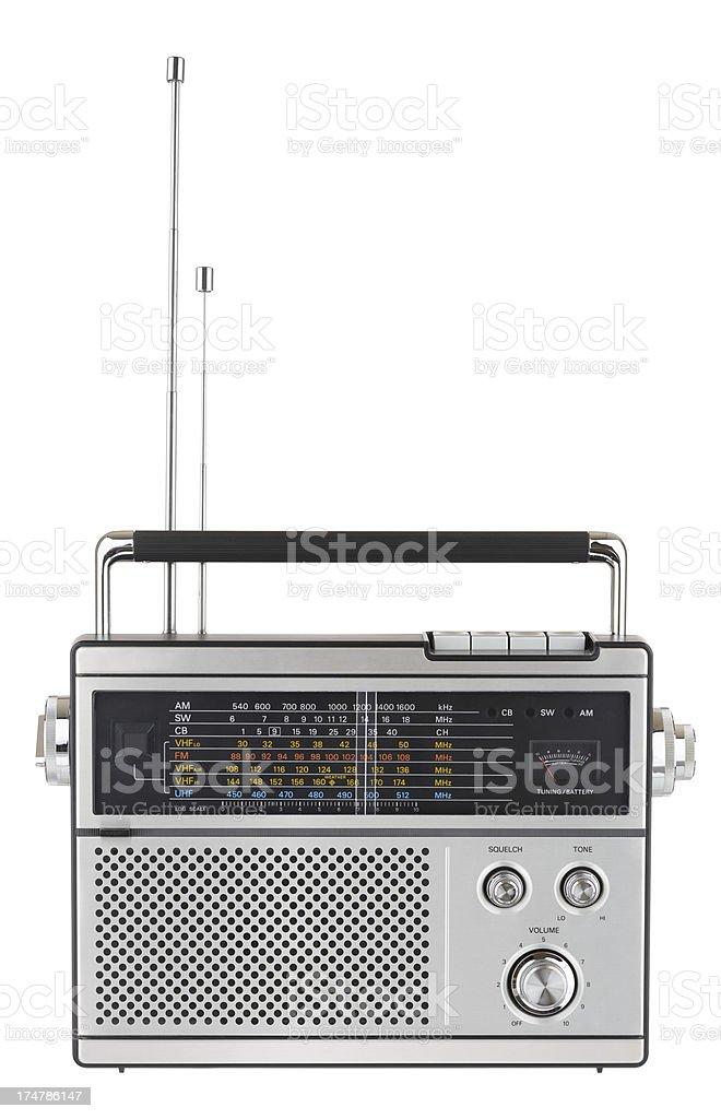 1970s Radio stock photo