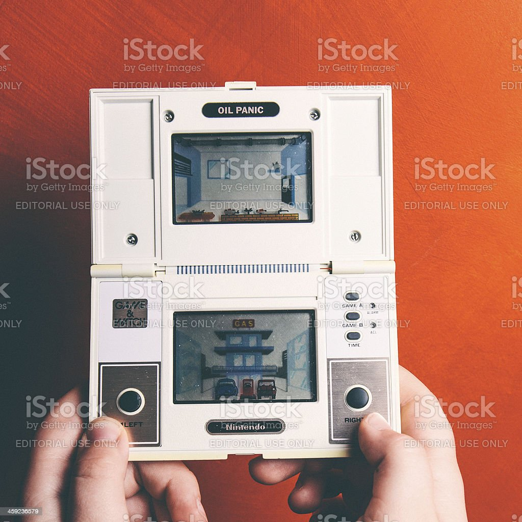 1980s Nintendo. royalty-free stock photo