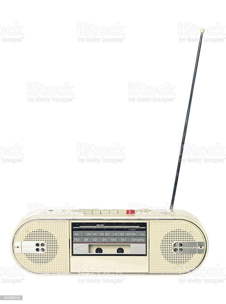 1980s radio stock photo