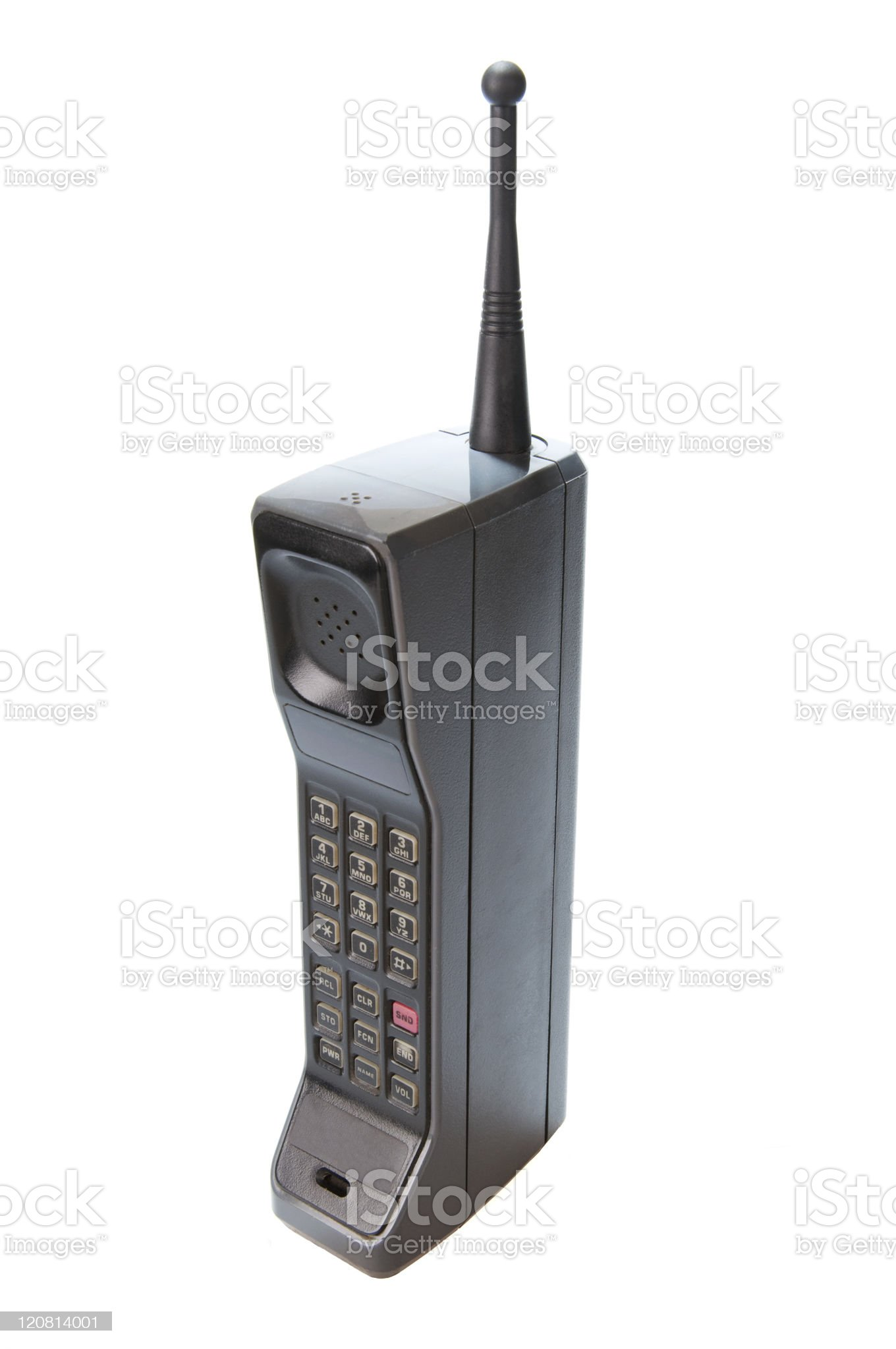 1980s Retro Cell Phone royalty-free stock photo