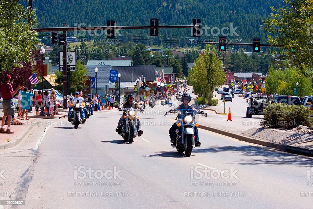 19th annual Salute to American Veterans Rally royalty-free stock photo
