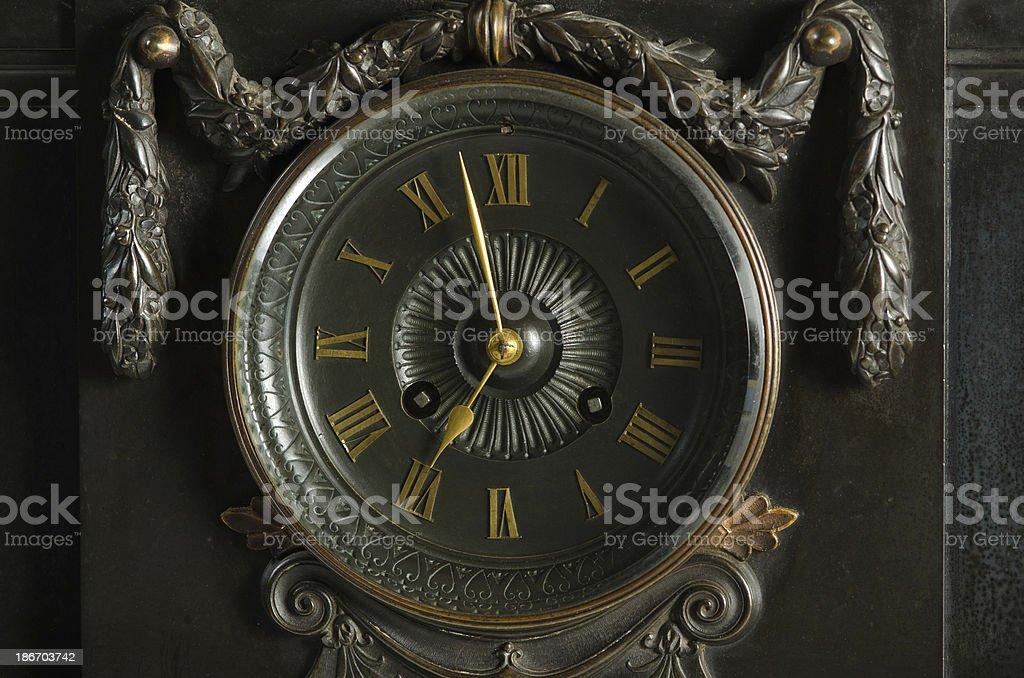 19th Century Clock Face royalty-free stock photo