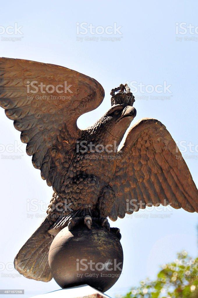 19th century German War monument, Windhoek, Namibia stock photo