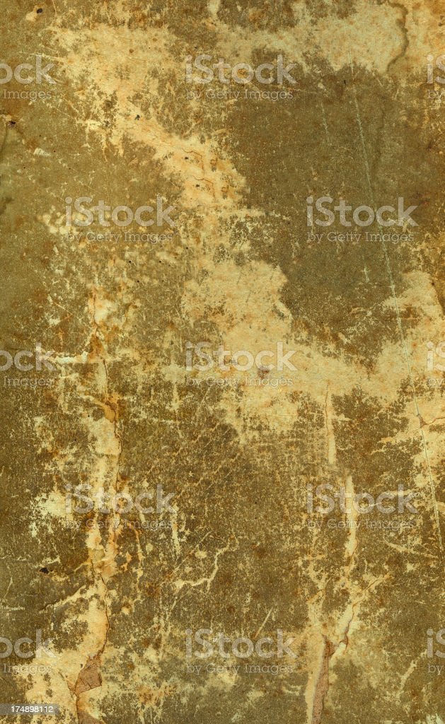 19th Century Paper Book Cover royalty-free stock photo