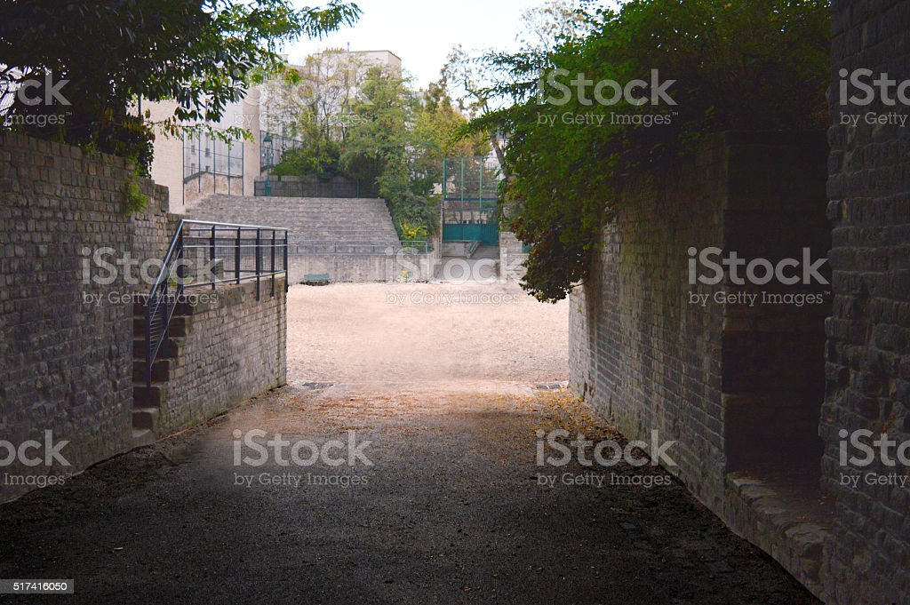 1st Century Arena in Paris stock photo