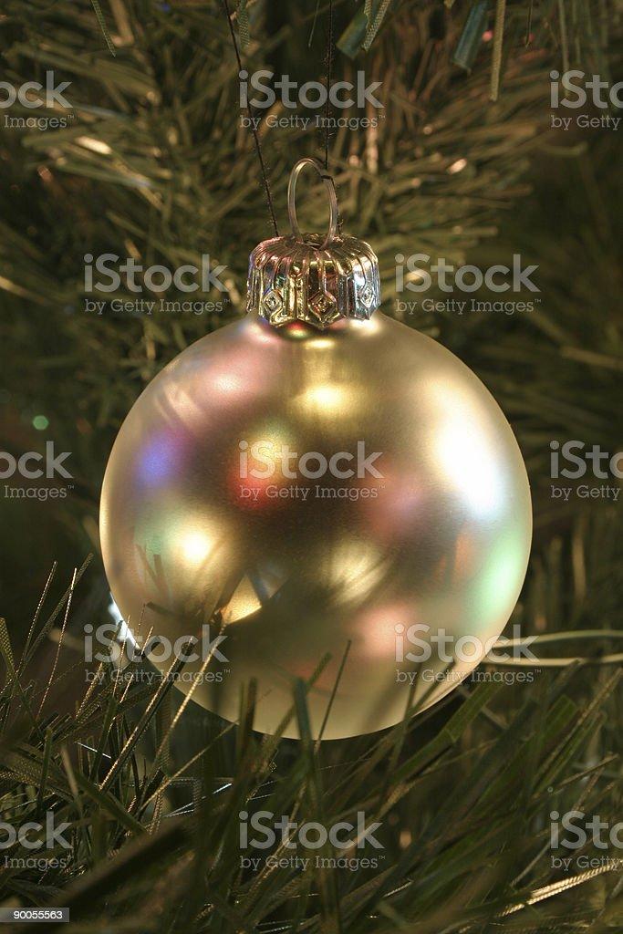 1-st Christmas ornaments ball royalty-free stock photo