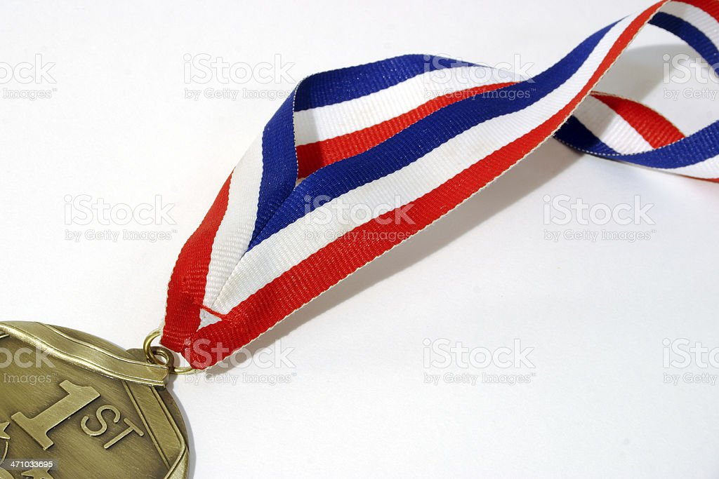 1st Place medal royalty-free stock photo
