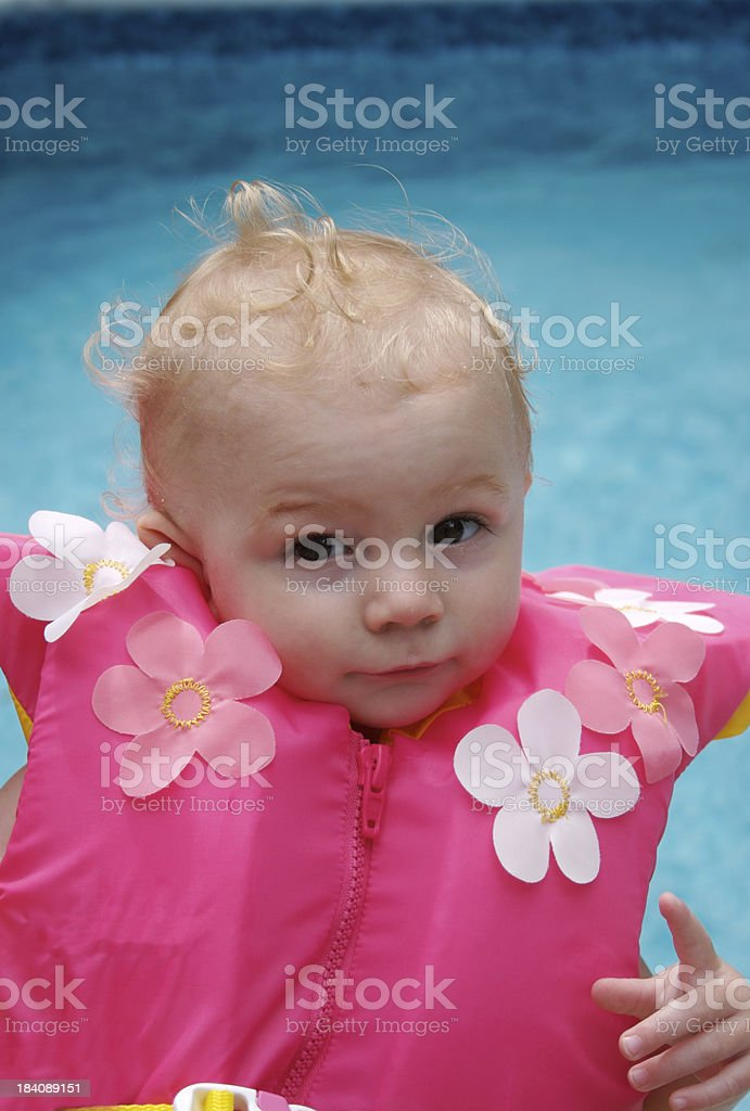 1st swim royalty-free stock photo
